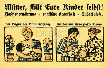 Vorteile des Stillens  Merkblatt fuer Muetter  1912