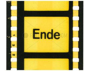 Filmende  Ende  Symbol  1975