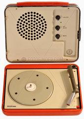 italienischer Designplattenspieler von Brionvega  1969