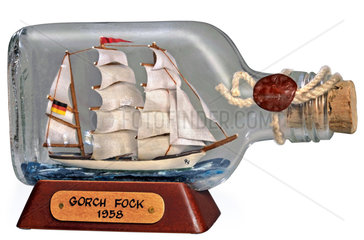 Gorch Fock  Buddelschiff  1980