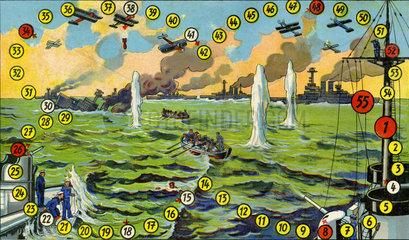 Seeschlacht  Wuerfelspiel  1927