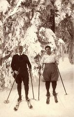Skifahrer 1924