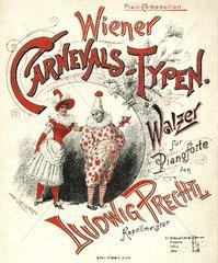 Wiener Walzer Klaviernoten 1898