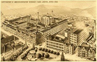 Carl Zeiss Werke Jena 1922