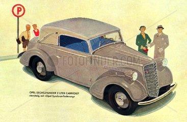 Opel Cabrio 1935
