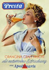 Presta  Fruchtsaftgetraenk  1954