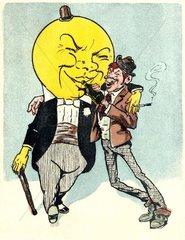 durchzechte Nacht 1909