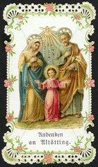 Heilige Familie  um 1900