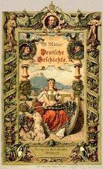 Buchcover Deutsche Geschichte 1888