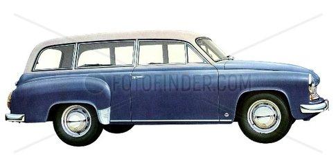 Wartburg Limousine 1960 DDR
