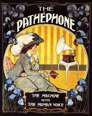 franzoesisches Grammophon um 1907