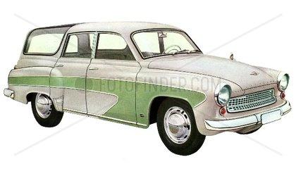 Wartburg Limousine 1960