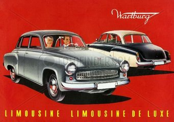 Wartburg Limousine 1959