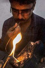 INDIA-KOLKATA-JEWELLERY MAKING INDUSTRY