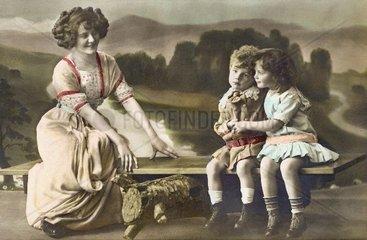Ausflug Mutter und Kinder