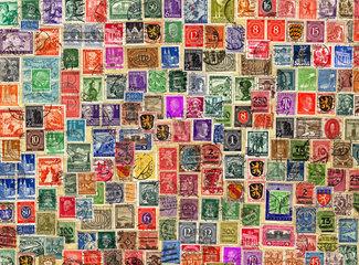 Briefmarken 1905 bis 1955