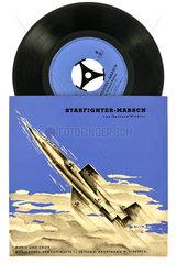 Starfighter-Marsch  Schallplatte der Bundeswehr  1964