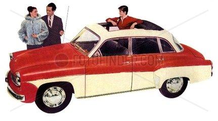 Wartburg Limousine DDR 1960