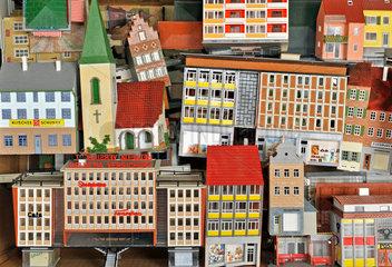 Faller Haeuschen  Modellbau  1966