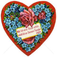 Herz  Liebessymbol  1912