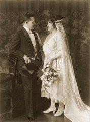 Hochzeitspaar 1921