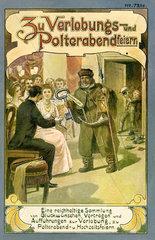 Buch zu Polterabend und Hochzeitsfeiern  1910