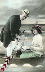 Bootsausflug 1914
