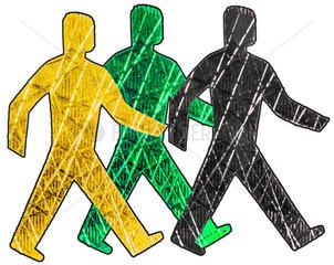 Jamaika-Koalition  Symbolfoto