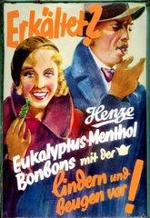 Werbung fuer Hustenbonbons 1928