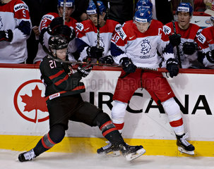 (SP)CANADA-VANCOUVER-INTERNATIONAL-ICE HOCKEY-CANADA VS CZECH REPUBLIC