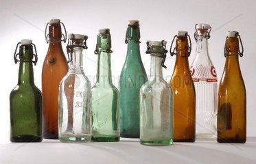 alte Flaschen um 1930 - 1960