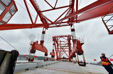 CHINA-FUJIAN-PINGTAN-BRIDGE-CONSTRUCTION (CN)