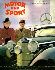 Motor und Sport  Autozeitschrift  1939