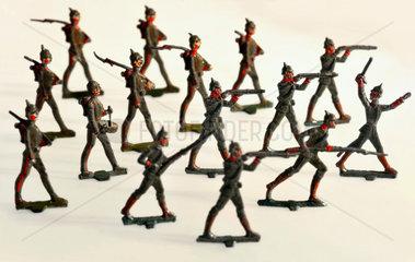 Zinnsoldaten  deutsche Soldaten  Erster Weltkrieg  1914