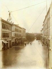 Hochwasser Rosenheim 1899