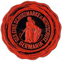 Schutzmarke und Wortschutz Germania   1912