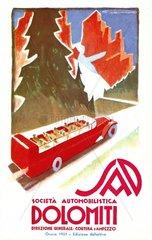 Fahrplan Dolomiten 1933