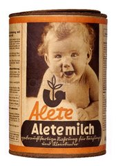 Alete Milchpulver 1949