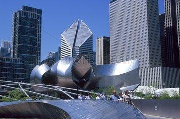 USA  California  Los Angeles  Walt Disney Concert Hall (1987-2003) by Frank Gehry