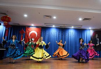 TURKEY-ISTANBUL-YEDITEPE UNIVERSITY-CHINESE NEW YEAR-CELEBRATION