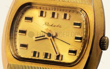 Armbanduhr Raketa  Made in USSR  um 1973