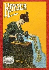 Naehmaschinenwerbung 1908