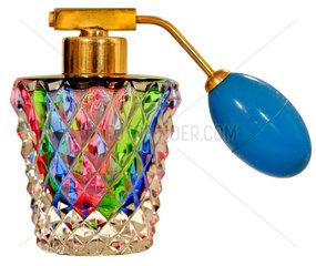 alter schwedischer Parfumzerstaeuber  um 1948