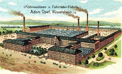 Firma Opel 1901