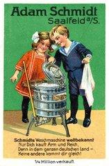 Waschmaschinenwerbung 1913