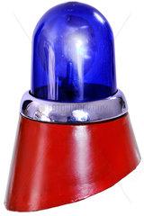 altes Blaulicht  Polizei  Fahrzeug  1960