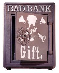 Bad Bank  Symbolfoto