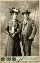 Ehepaar um 1905