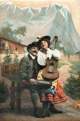 bayerisches Liebespaar 1908