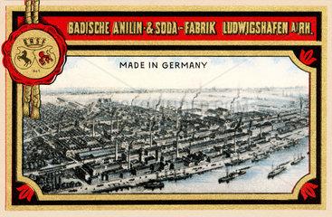 BASF  Firmenansicht 1910